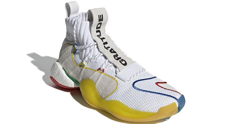 "Pharrell x adidas Crazy BYW LVL X ""White"""