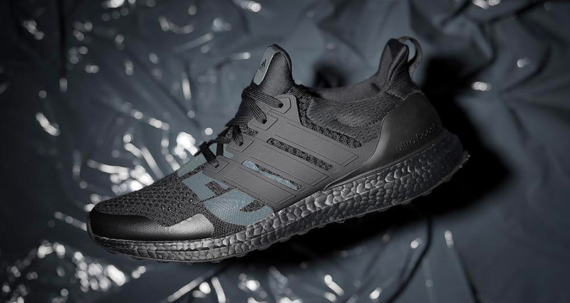 """Undefeated x adidas Ultra Boost """"Triple Black"""""""