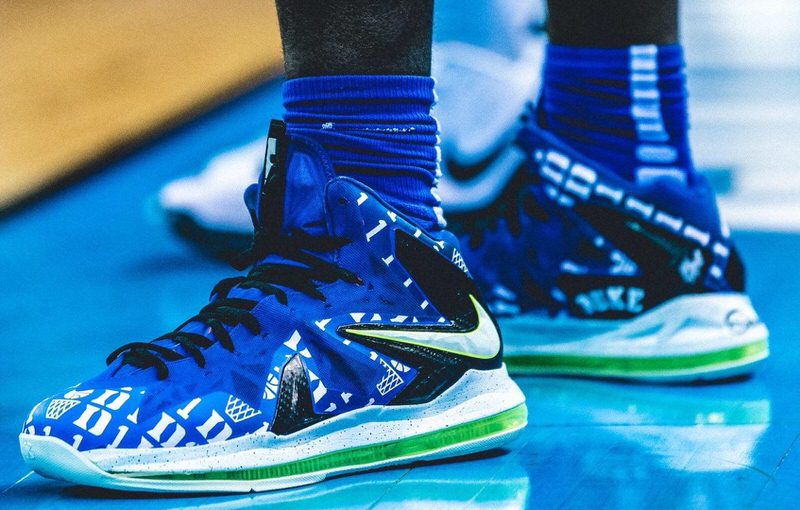 duke custom shoes