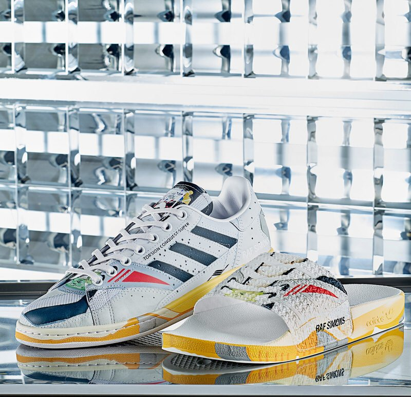 Raf Simons x adidas RS Stan Smith and RS Adilette - Torsion Conquest Super