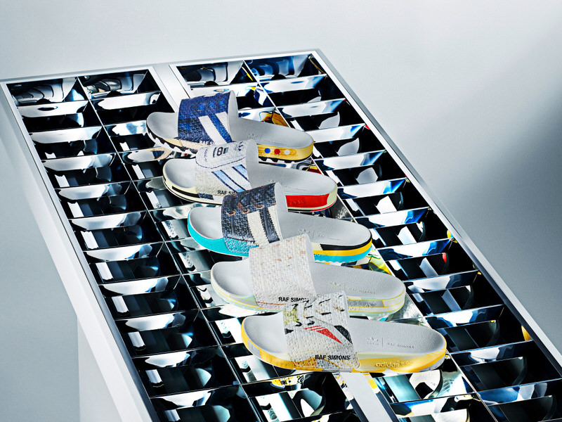 Raf Simons x adidas RS Adilette Collection