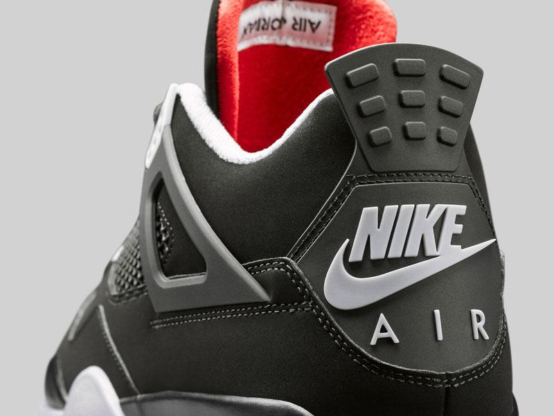 Air Jordan 4 Black/Red