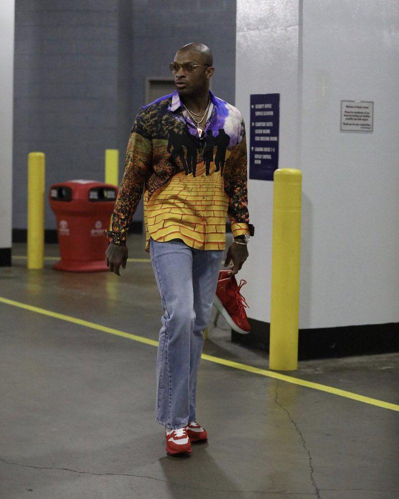 PJ Tucker in the Louis Vuitton Sneakers