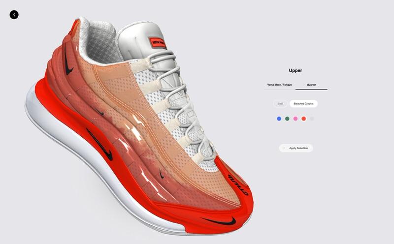 Nike Air Max 720/95 Heron By You