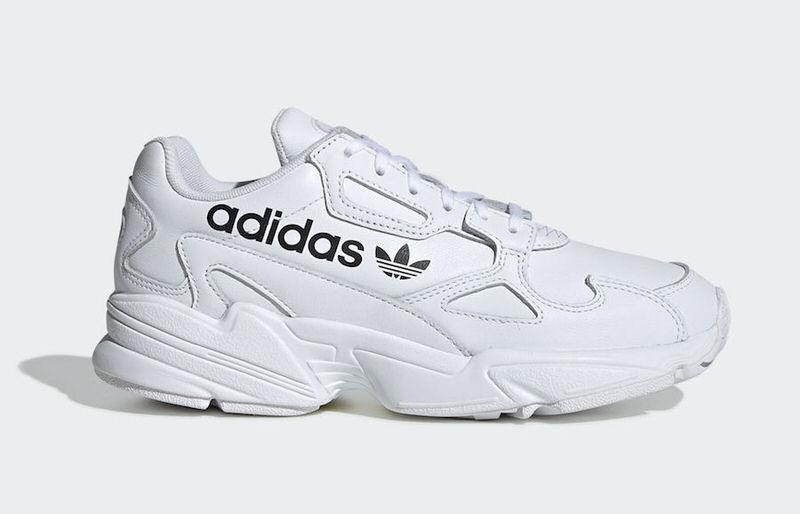 "ae9ea356910c adidas Falcon ""Big Logo"" Pack. Previous. Next. Brand. Adidas. Model. adidas  Falcon. Colorway. Cloud White Cloud White-Core Black. Price.  130. Release  Date"