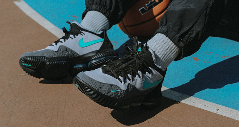 "atmos x Nike LeBron 16 Low ""Clear Jade"""