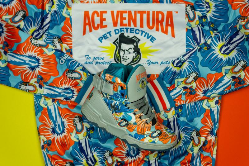 Mache Customs x Ace Ventura x Ewing 33 Hi