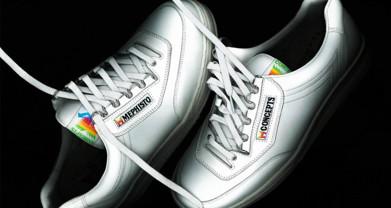 "Mephisto x Concepts ""Apple"" Sneaker"