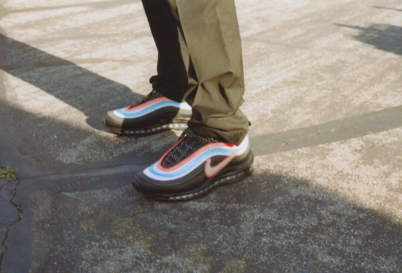 """@edgarthecoolbro with the Air Max 97 """"Neon Seoul"""""""