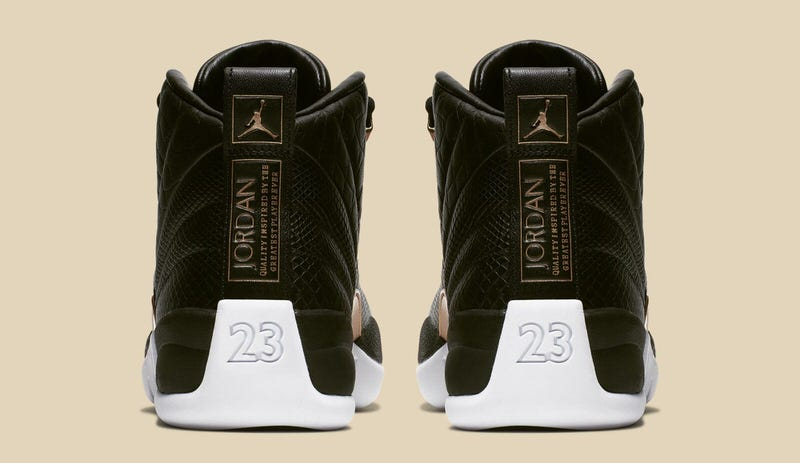 """Air Jordan 12 """"Midnight Black"""""""