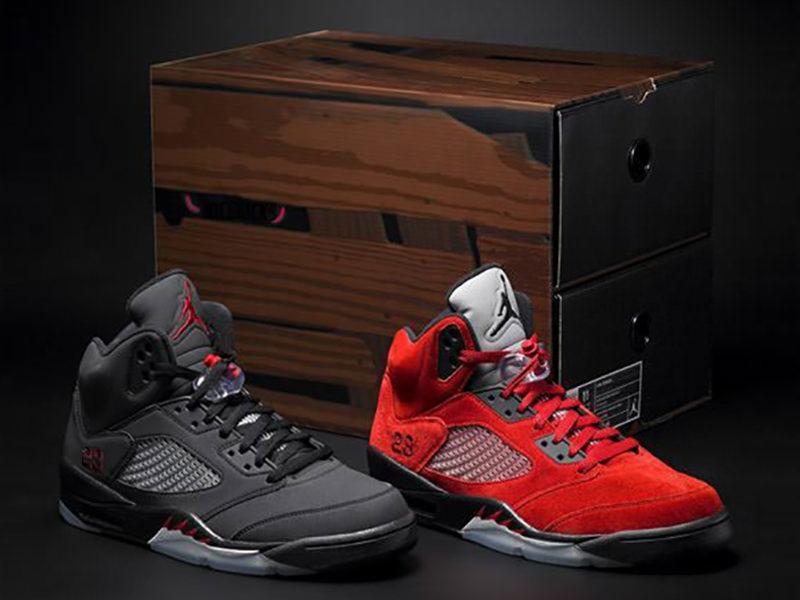 The Air Jordan 5 \