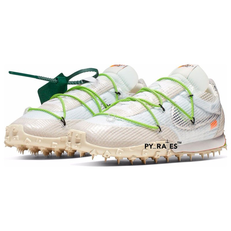 Off-White x Nike Waffle Racer Release