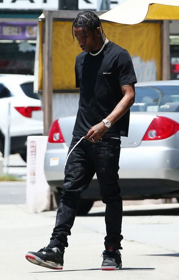 Travis Scott has an eclectic style, but even style gurus don't skip out on the classics.