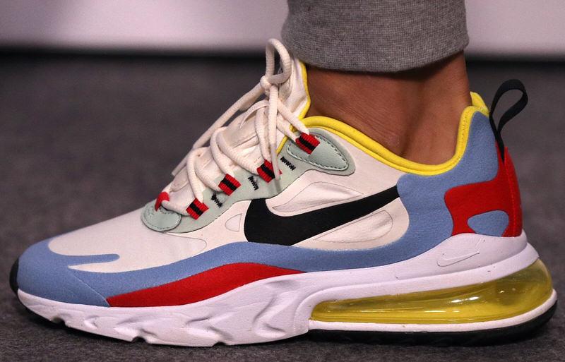 What The Nike Air Max 270 React Looks Like On Foot Nice Kicks