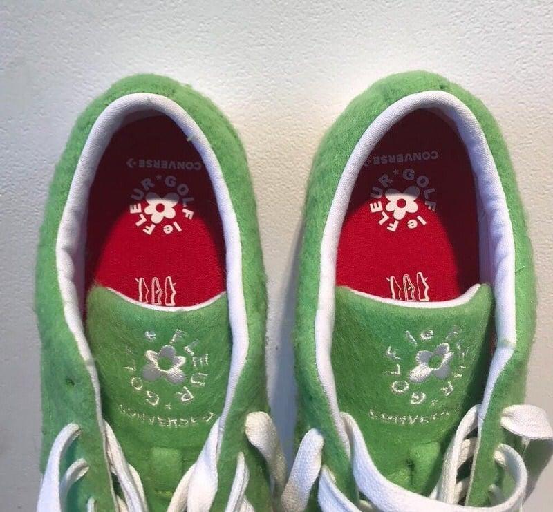 """Golf le Fleur x Converse One Star """"Grinch"""""""
