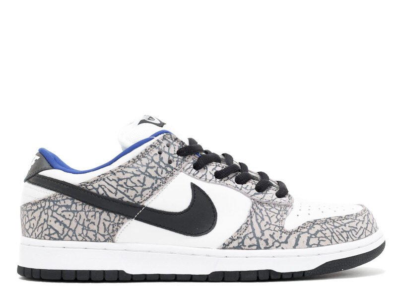 "Supreme x Nike SB Dunk Low ""White Cement"""