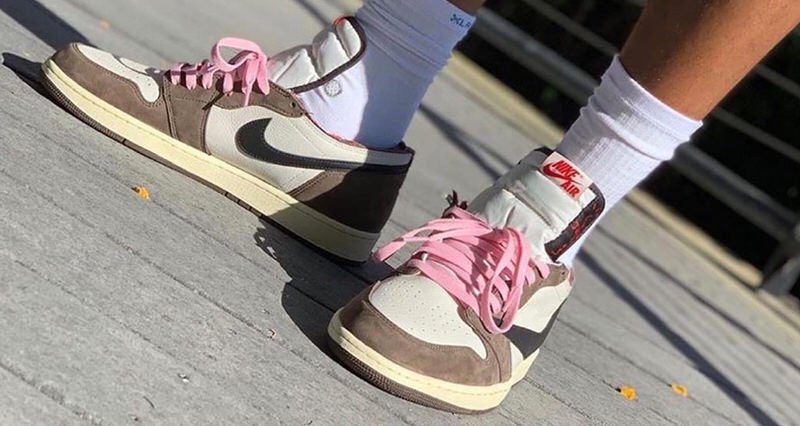 What the Travis Scott x Air Jordan 1 Looks Like with a