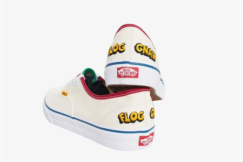 "Tyler the Creator x Vans Sk8-Hi ""Camp Flog Gnaw 2016"""