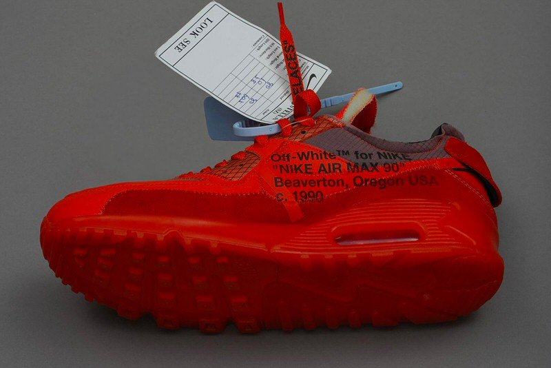 Off White x Nike Air Max 90 Red Release Date | Nice Kicks