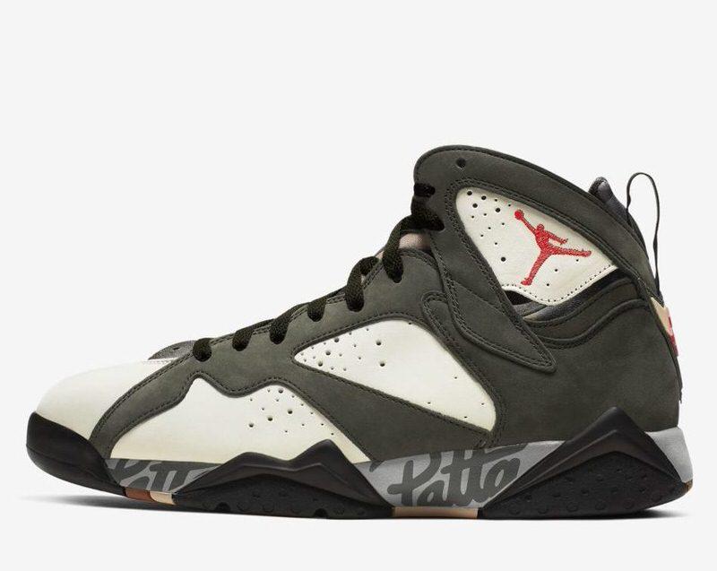 The Patta x Air Jordan 7 \