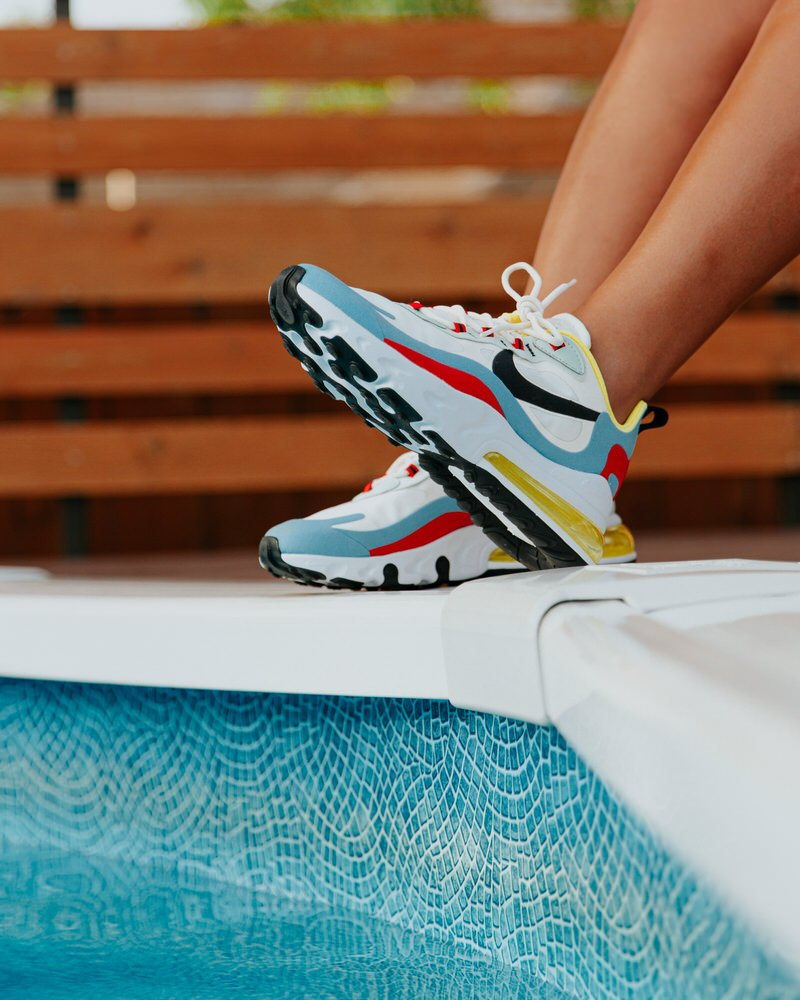 What The Nike Air Max 270 React Looks Like On Foot Nice Kicks