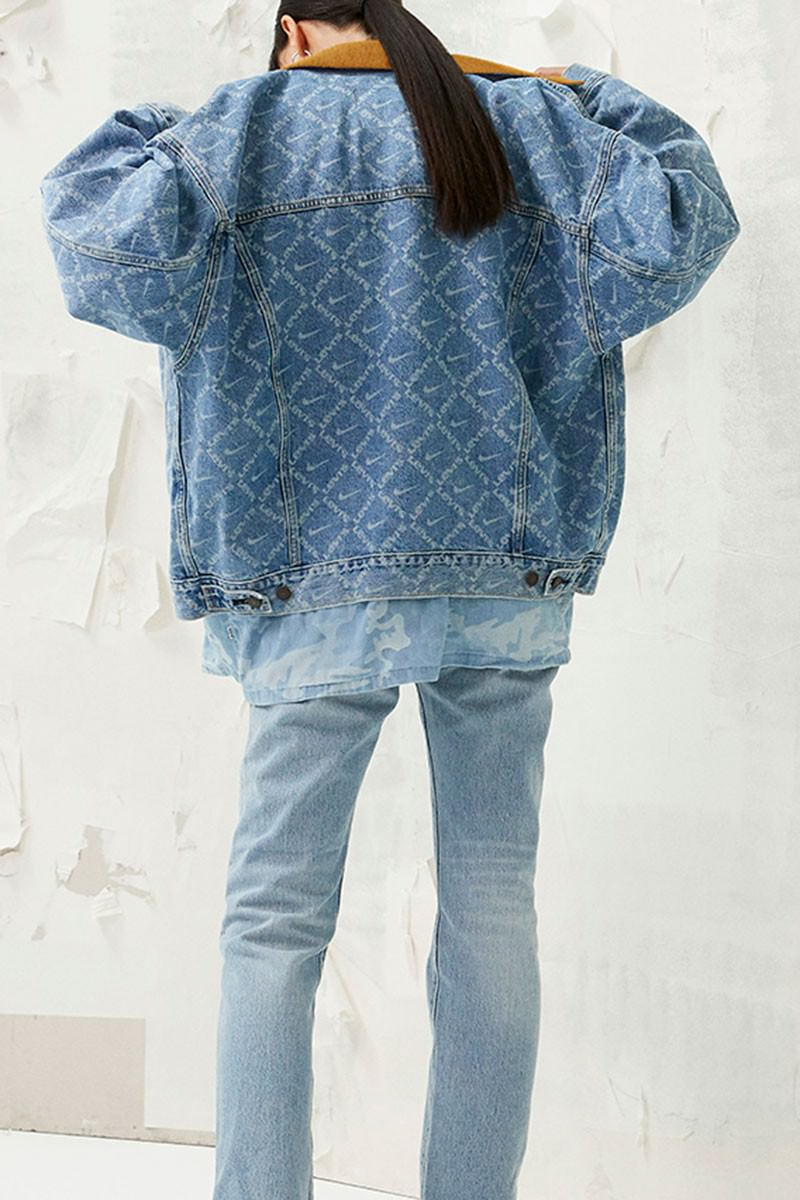 Nuclear ganso ola  Levi's x Nike By You Release Information | Nice Kicks