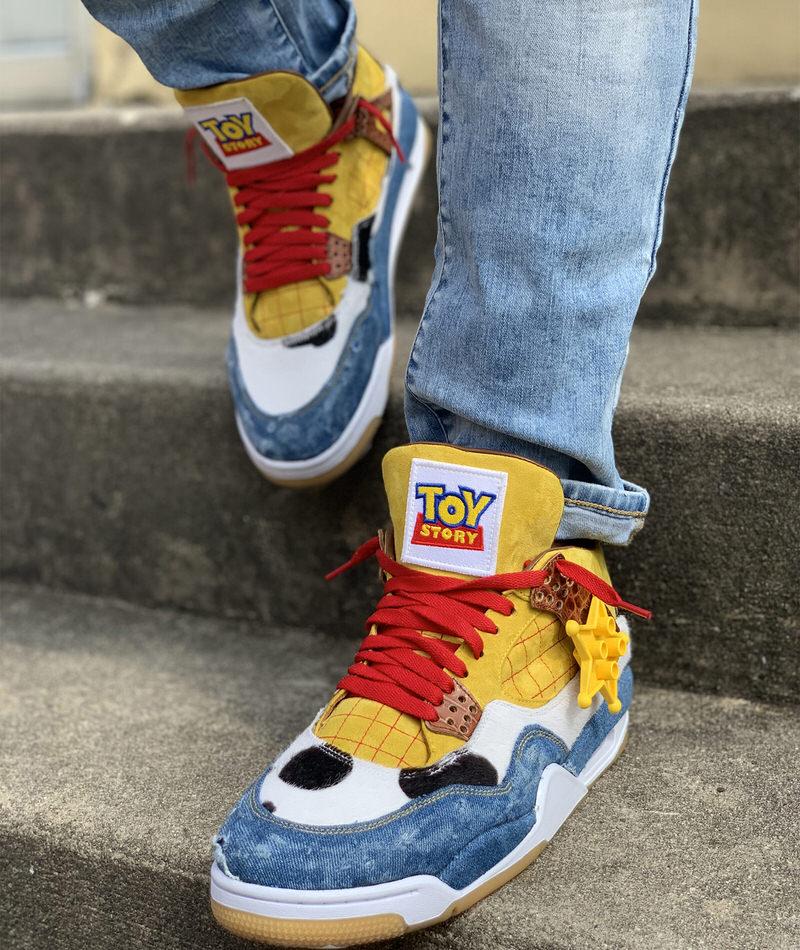 Custom Air Jordan 4 \