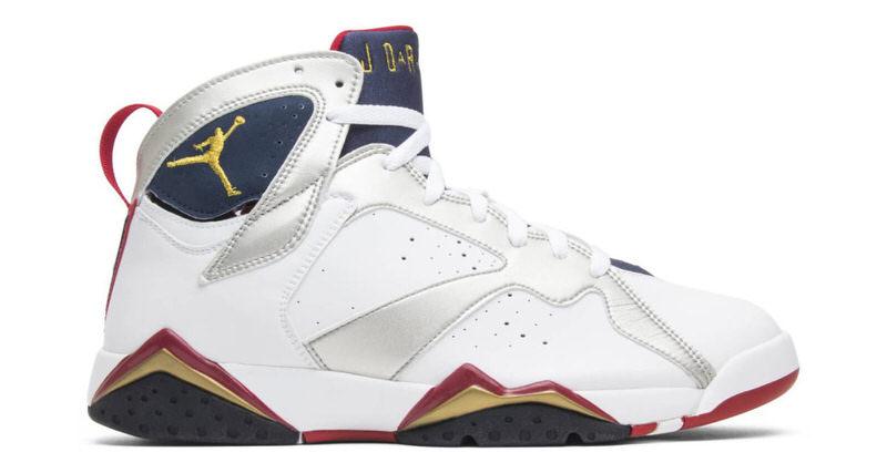 Air Jordan 7 Olympic History OG \u0026 Retro