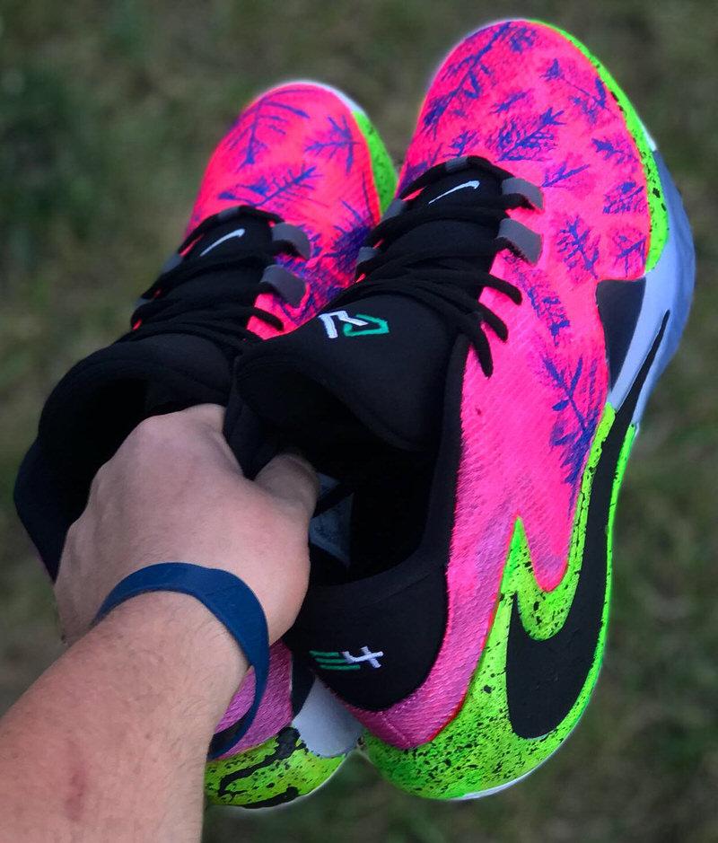 This Custom Nike Zoom Freak 1 Goes into