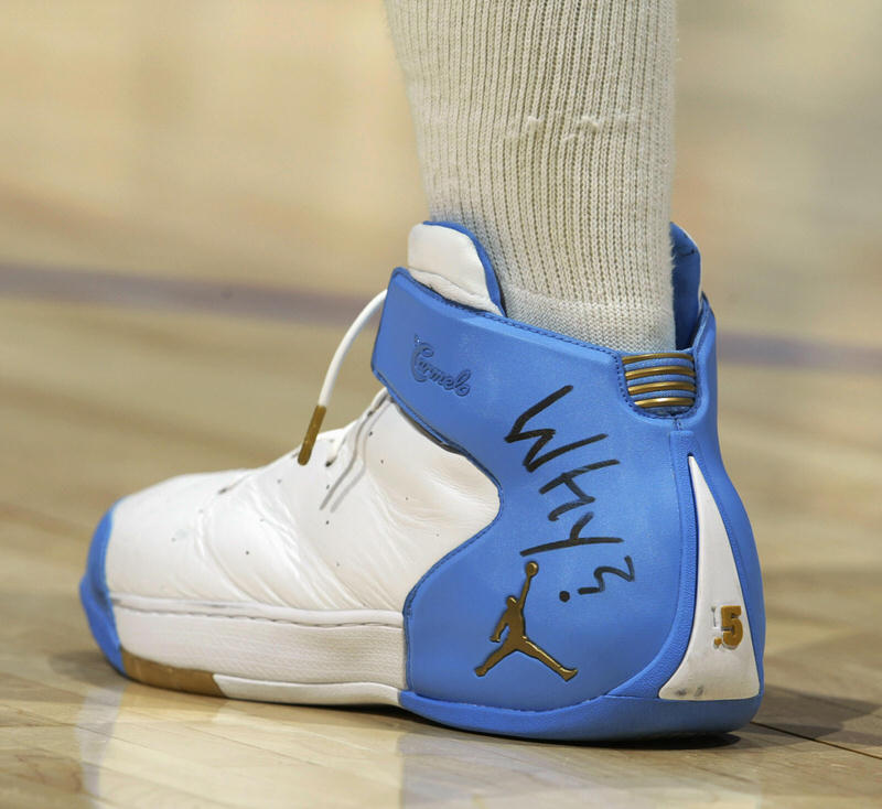 The Complete History of Carmelo Anthony's Jordan Shoe Line   Nice ...
