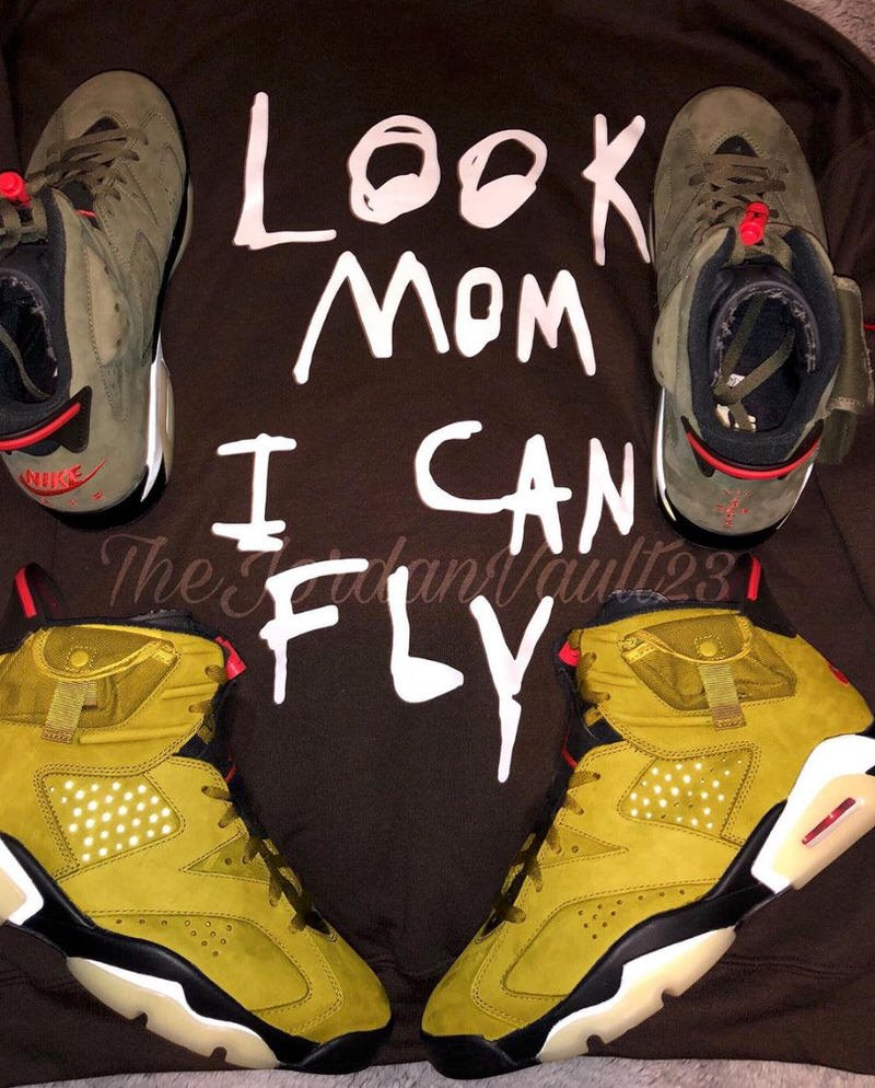 air jordan 6 travis scott yellow release date