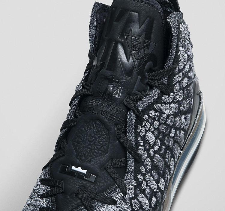 Air Highlight the Nike LeBron 17