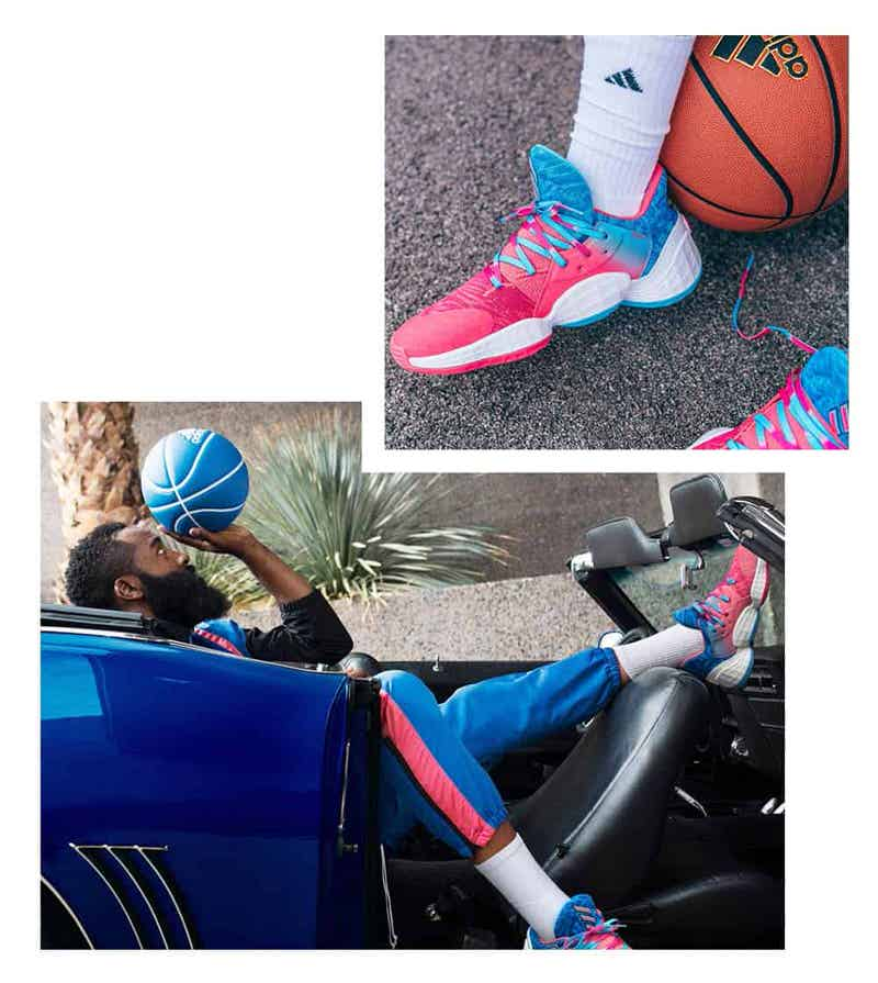 Adidas Harden Vol 4 Candy Paint