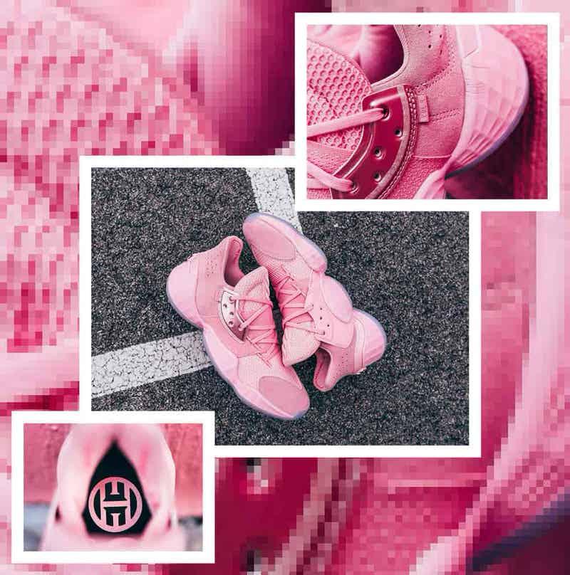 Adidas Harden Vol 4 Pink Lemonade