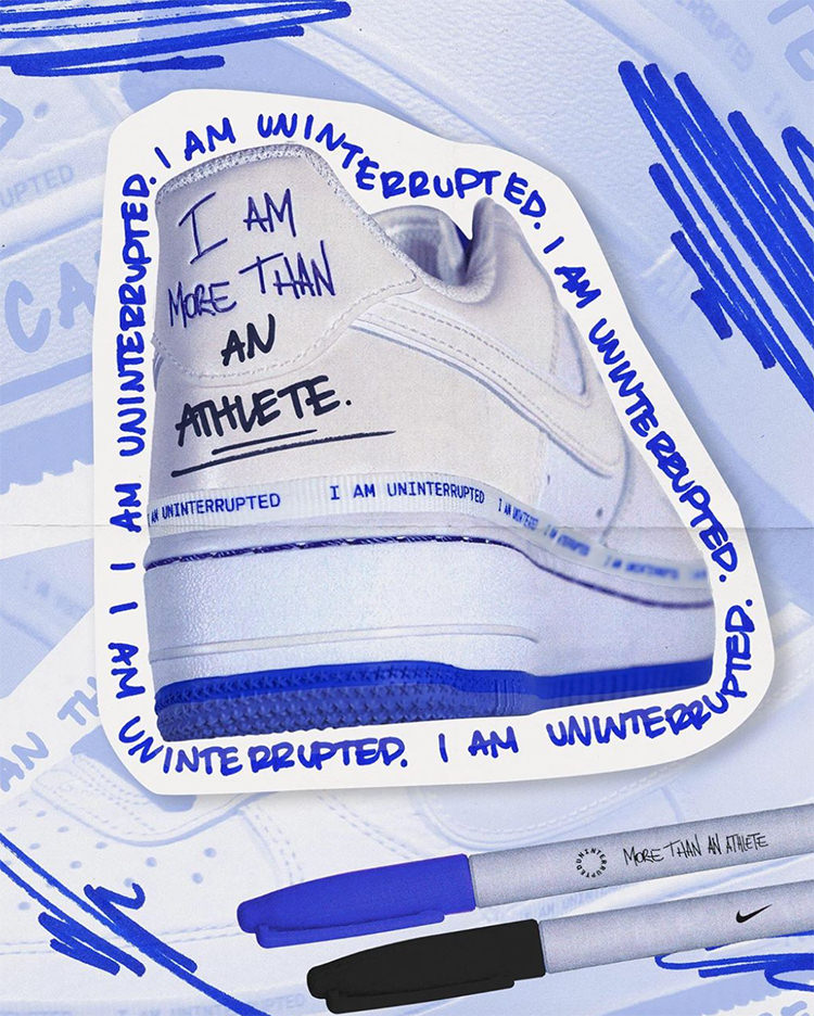 Nike Air Force 1 More Than An Athlete Release Date | Nice Kicks