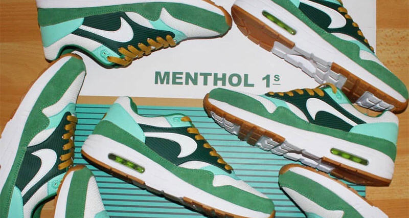 Menthol 10 Sees Air Max 1 Makeover