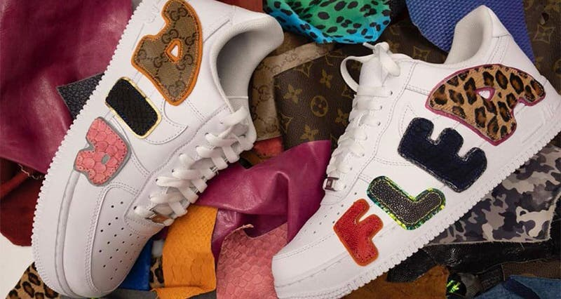 Cactus Plant Flea Market x Nike By You x Air Force 1