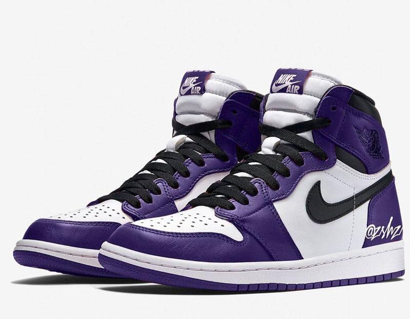 purple black and white 1s