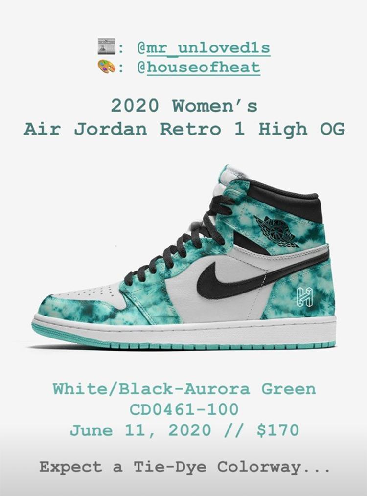 Air Jordan 1 Aurora Release Date 2020