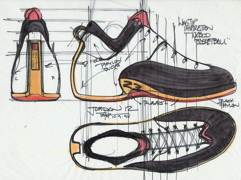 jordan 12 design