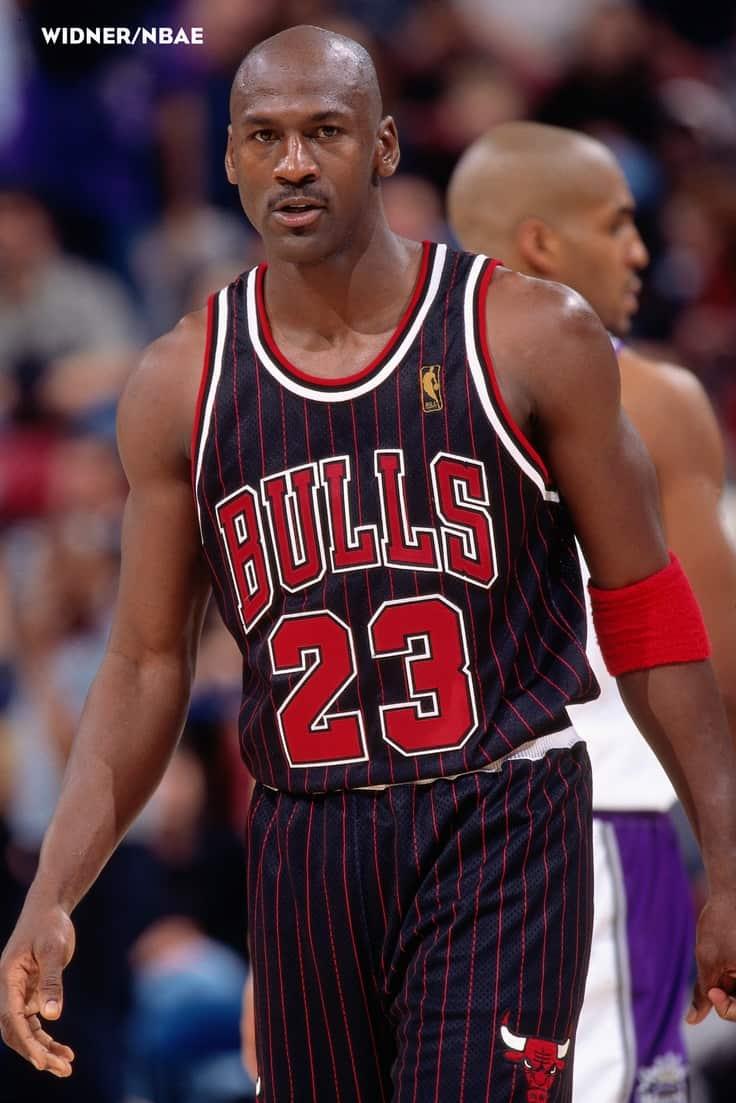 Bulls Pinstripe Jerseys