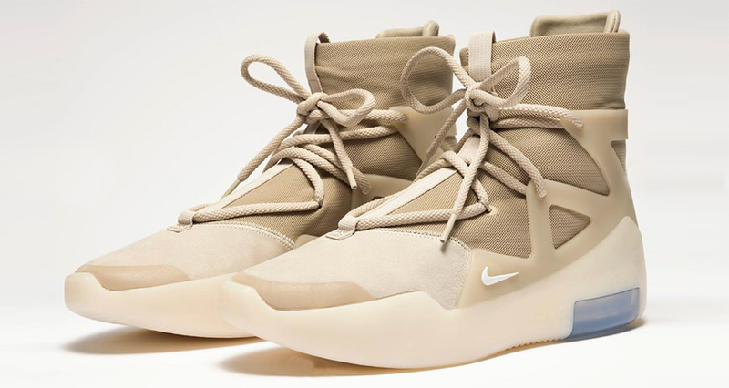 Nike Air Fear of God 1 Oatmeal Release Date | Nice Kicks