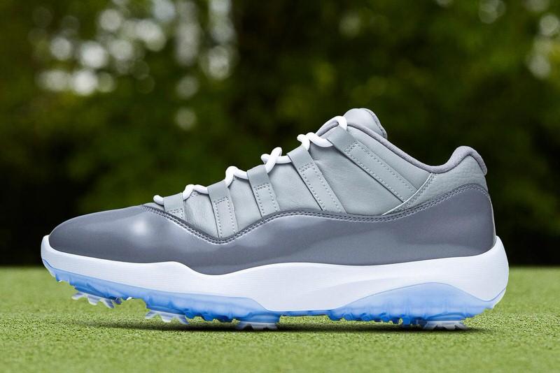 Air Jordan 11 Golf Cool Grey Release