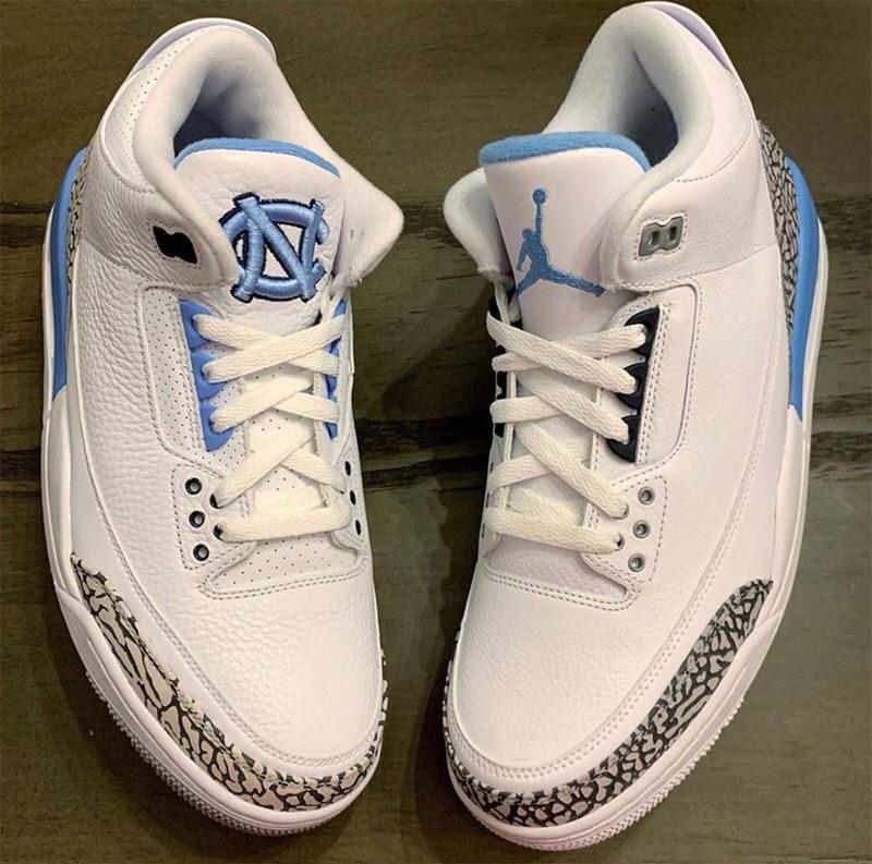 Zapatillas Nike Air Jordan Retro 6 Unc Black University Blue