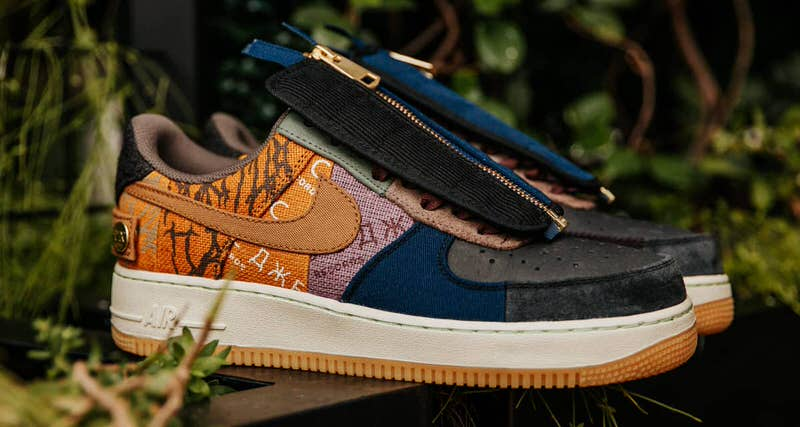 Travis Scott x Nike Air Force 1 Release Information | Nice Kicks