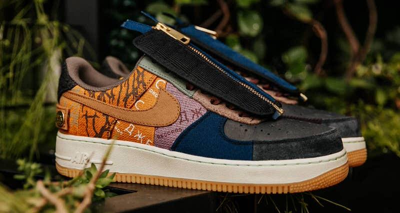 Travis Scott x Nike Air Force 1 Release Information | Nice Kicks