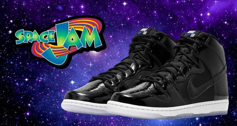 Nike SB Dunk High Space Jam Release