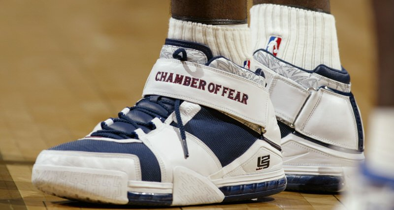 Nike LeBron II History 2004-05 Season