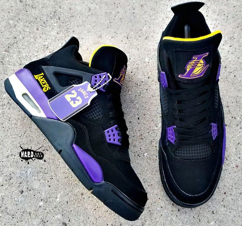 Custom Air Jordan 4 Gets the Showtime