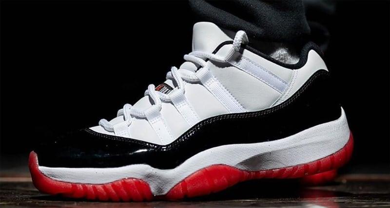Air Jordan 11 Low University Red